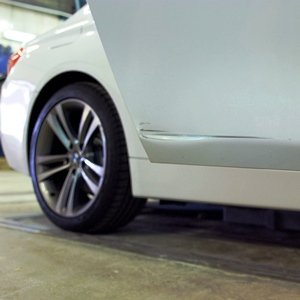 BMW 4 серии F32 420d: ремонт и окраска двери