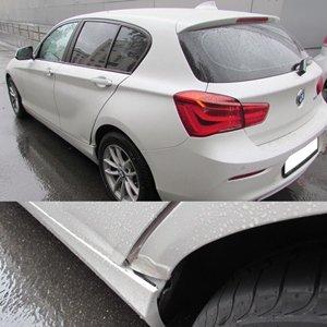 Ремонт и окраска крыла и двери на BMW 118i F20