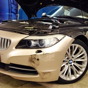 Ремонт и окраска бампера на BMW Z4 E89