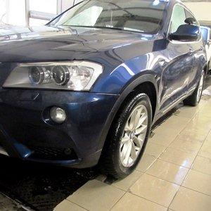Кузовной ремонт BMW X3 F25
