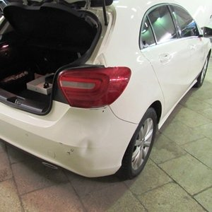 Кузовной ремонт Mercedes-Benz A180