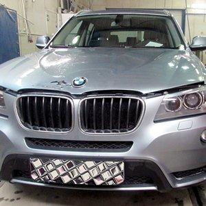 Покраска капота на BMW X3 20d F25